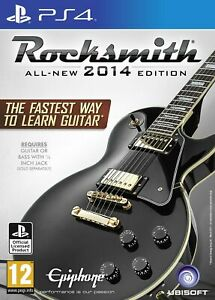 Rocksmith 2014 Edition with Real Tone Cable (PS4) (New)