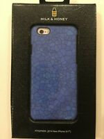 Milk & Honey Designer Protective Case for iPhone 6/6s - BLUE MOSAIC NEW