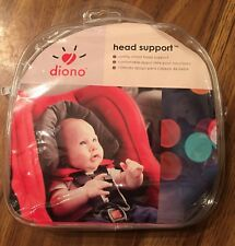 Diono Gray Orange Infant Baby Head Support