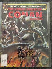 SAVAGE SWORD OF CONAN #86 MARVEL MAGAZINE 1983 HI GRADE