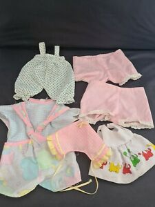 Vintage Baby Doll Clothing Bundle Fisher Price Famosa Oscar 1980s