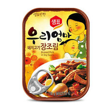 Canned Braised Pock Cooked in Soy Sauce Food Korean Instant Snack For Rice Ramen