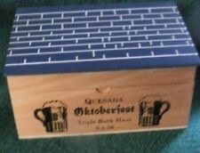 Quesada Oktoberfest Triple Bock Haus cigar box