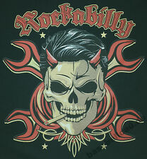 T-shirt nº 693 talla s-m-l-xl-2xl negro Biker Hot Rod pinup rockabilly v8