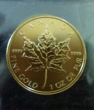 2011 Canadian Maple Leaf gold coin. 1 oz. @ .9999 pure. uncirculated.
