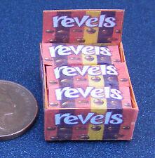 Escala 1:12 caja de presentación de paquetes revels Casa de Muñecas en Miniatura Accesorio Dulce