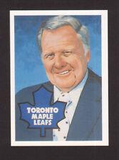 Harold Ballard Toronto Maple Leafs 1987 Hockey Hall of Fame Cartophilium Card