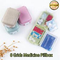 3 Zellen Pillendose Pillenbox Pillenturm Tablettenbox Medikamentenbox Spender DE