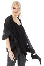 Roman Originals Womens Satin Trim Chiffon Cover Up