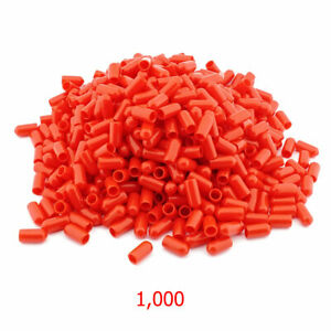 1,000 x RED Silicone Brake Bleed Nipple Bleed Screw Covers Caps NC6RED-1000