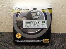 Midland 5001z 40 Channel 4 Watt X-TRA TALK Mic Control CB Radio