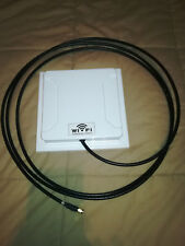 Antena Direccional Wifi Wireless 2.4 ghz 14dbi Exterior Interior + CABLE 3 METRO