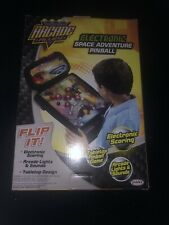 Arcade Alley Electronic Space Adventure Pinball Tabletop New Sealed*lights Sound