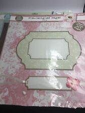 Colorbok Pre-Designed Scrapbook Pages 12 x 12 -Love Theme 6 Pages Blue Pink