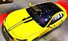 Car Decals Racing Stripes 9.5''x55'' for Levante Ghibli GC GT Hood sticker CG377
