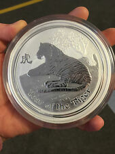 1 Kg 999 Silber Münze 30$ Lunar II Jahr des Year of the Tiger 2010 Perth Mint