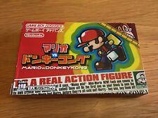 Nintendo Gameboy Advance Mario vs Donkey Kong Japanese Version CIB