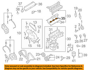 KIA OEM 03-06 Sorento Engine-Valve Cover Gasket 2244339810