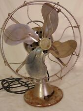 Vintage 20's Emerson Chrome 4 Blade 3-speed Electric Fan Type 29646