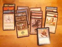 Magic lot 35 cartes différentes édition Portal second age en VF dont 10 terrains
