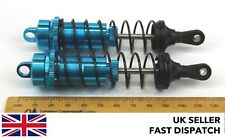 Blue Aluminium Shock Absorbers RC buggy/model 122mm 114mm x 25mm 1/8 scale
