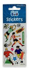 5 x FOOTBALL PLAYER  Sticker Sheets Ideal Party Bag Filler Stickers
