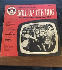 "Disney's Mickey Mouse Club; Roll Up the Rug for More Mousekedances 10"" 78 RPM"