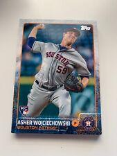 2015 Topps Update #US303 Asher Wojciechowski ROokie Astros
