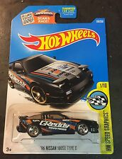 2016 Hot Wheels CUSTOM Super 96 Nissan 180SX Type X w Real Riders