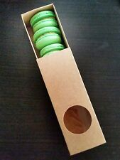 Small Macaron Boxes for 6 macarons- pack of 5