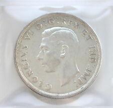 1947 George VI 1 Dollar CAN • Blunt 7 • CCCS Grade EF-45