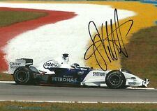 Sebastian Vettel Sauber 2007 BMW Sauber signed professional photo F1
