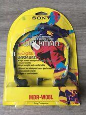 Casque SONY mdr-W08L Stereo Headphones Neuf new !! Vintage 1995 Walkman Discman
