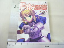 FATE Stay Night Realta Nua Official Strategy Guide Book Type Moon PC KD67*