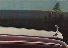 Rolls Royce Silver Shadow Prospekt, 1979, 20 Seiten