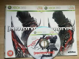Prototype (Microsoft Xbox 360, 2009) DISC AND COVER ONLY