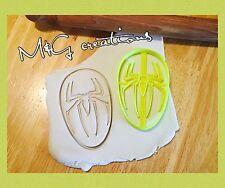 Spiderman Logo/face Uk Seller Cookie Cutter fondant cake decorating Mould