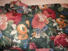 CHAIR FURNITURE THROW COVER 100X 95 w/Ruffled Skirt & Pillow Floral Discontinued