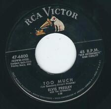 R&R Elvis Presley RCA 6800 Too much / Playing for keeps ♫