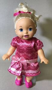 """2011 Fisher Price Little Mommy Sweet as Me - Such a Sweetie 14"""" Doll"""