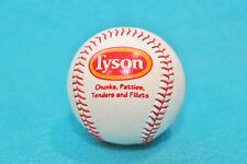 TYSON ADVERTISEMENT BASEBALL -CHUNKS, PATTIES, TENDERS & FILLETS - MILO & SKIPPY