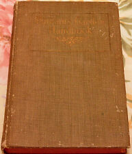 1917-PUTMAN'S GARDEN HANDBOOK  By: Mae Savell Croy Hardcover Great Collectable