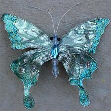 Butterfly Clip Wreath Decoration Craft Wedding Spring Wreath Floral Blue 94 New