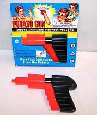2 POTATO GUNS toy gun spuds novelty toys SPUD game toys new shoot potatos pistol