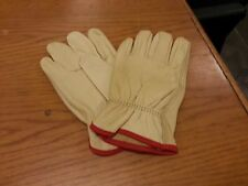 Lot Of 12 Pair Truck Drivers Glove Grain Cowhide Small Work Glove 4720S