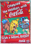 COCA COLA OLYMPIC GAMES SYDNEY 2000 POSTER COKE Olly Syd Millie