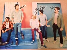 YOUNG THE GIANT  Complete Band Signed 11x14 Photo 5+ Sameer Gadhia
