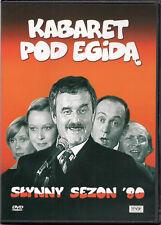 Kabaret pod Egida - Slynny sezon '80 (DVD) 1980 Jan Pietrzak POLSKI  POLISH