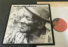 1033-MANCE LIPSCOMB-VOLUME 4-USA 1967 ISSUE ARHOOLIE VINYL LP (EX/M-)