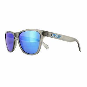 Oakley Sunglasses Frogskins XS OJ9006-05 Matte Gray Ink Prizm Sapphire Youth Fit